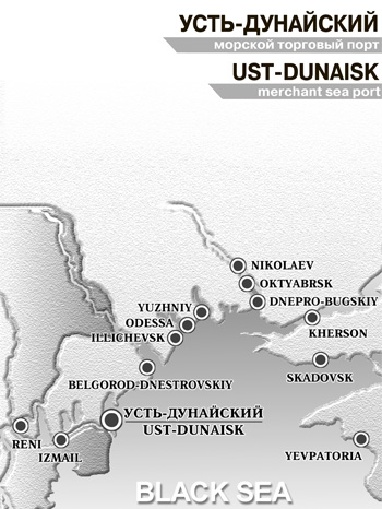 Ust-Dunaisk Port on Map